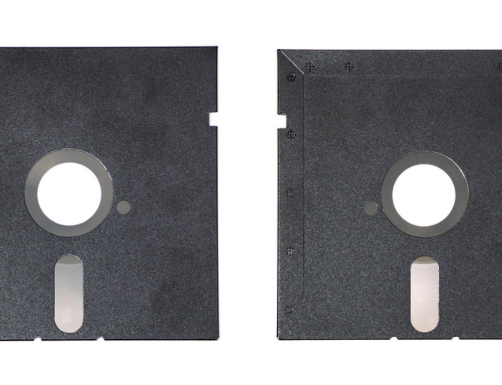 Remember when disks actually were floppy?